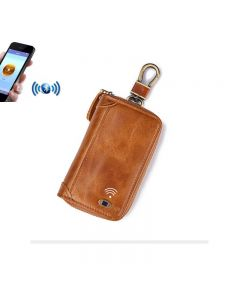 blue tooth leather key case